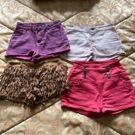 bundle of shorts size 8