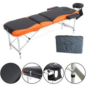 Brand New || Premium Ultra Portable 3-Section Massage Table and ALL Accessories || We Deliver FREE!!