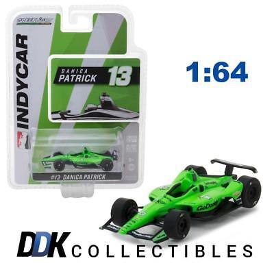 GREENLIGHT 10823 2018 #13 Danica Patrick - Go Daddy Diecast Indy Car 1:64