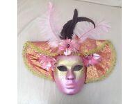 Collectible Canarian Mardi Gras Mask