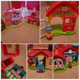 Happyland Cottage, Garage, Pre School, Post Office, & Grocery Store