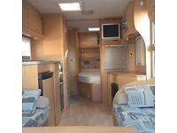 Bailey Senator Indiana Series 6, 2008 model inc New Hampshire full length awning . Immaculate