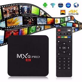 4k MXQ Pro Android 5.1Smart TV Box Quad Core S905 KODI free sport,movies,with pulse build