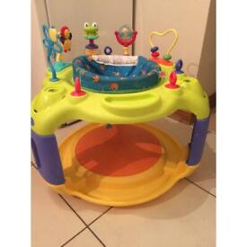Bright Starts Baby Spin & Stand Entertainer Seat & Activity Table