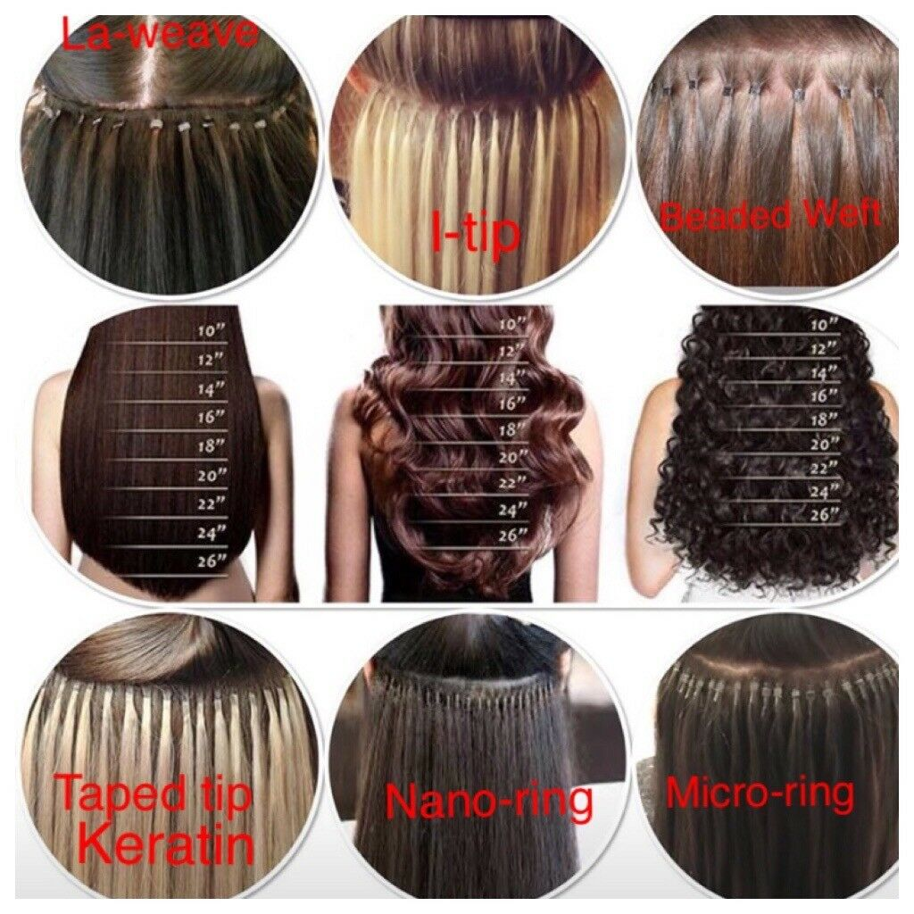 Hair Extensions Micronano Rings I Tip La Weave Weave On