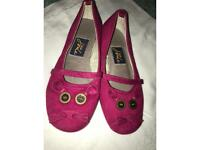 KIDS SUPER CUTE JOULES PINK MOUSE SLIP ON SHOES SIZE 10!!✨