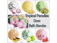 Tropical Paradise Coco Bath Bombs