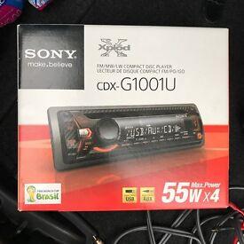 Two Sony Xplod 1300W, Fli twin case, 600W