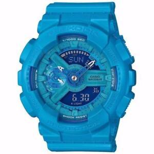 GMAS110VC-2A Vivid Blue G-Shock Watch Gshock Analog Digital