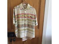 Vintage retro oversized shirt- unisex