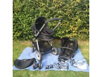 iCandy Apple Travel System and Carrycot-very good condition