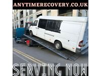 URGENT BREAKDOWN RECOVERY JUMP START AUCTION RECOVERY NATIONWIDE SUV JEEP VAN SCRAP MY VAN
