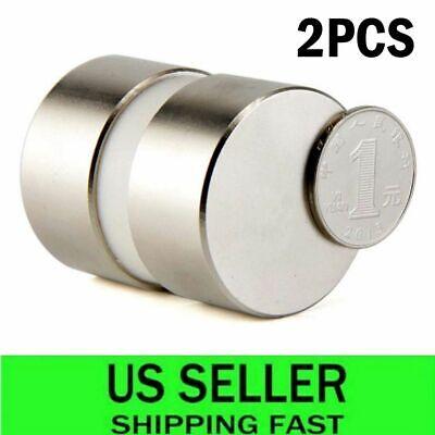 2pcs Large 40mm20mm Neodymium Rare Earth Magnet N35 Big Super Strong Magnets