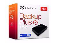 Seagate Backup Plus 4TB USB 3.0 External Hard Drive PC PS4 MAC XBONE