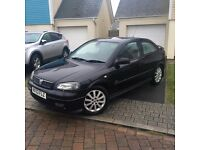 VAUXHALL ASTRA 1.8 SRI IN BLACK.. BRAND NEW 12 MONTHS MOT.. QUICK SALE FOR £650