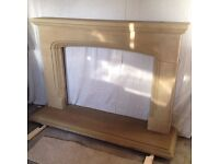 Yorkshire Sandstone Fireplace