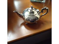 Dinky little c.1870-1880 teapot, beautifully engraved