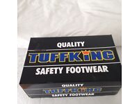 BRAND NEW Tuffkings safety boots **size 10**