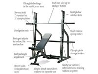 professional weight bench SMITH MACHINE £ 200