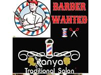 Barber/ hairdressers required up to £100 a day