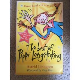 3 in 1 the best of pippi longstocking- Astrid Lindgren