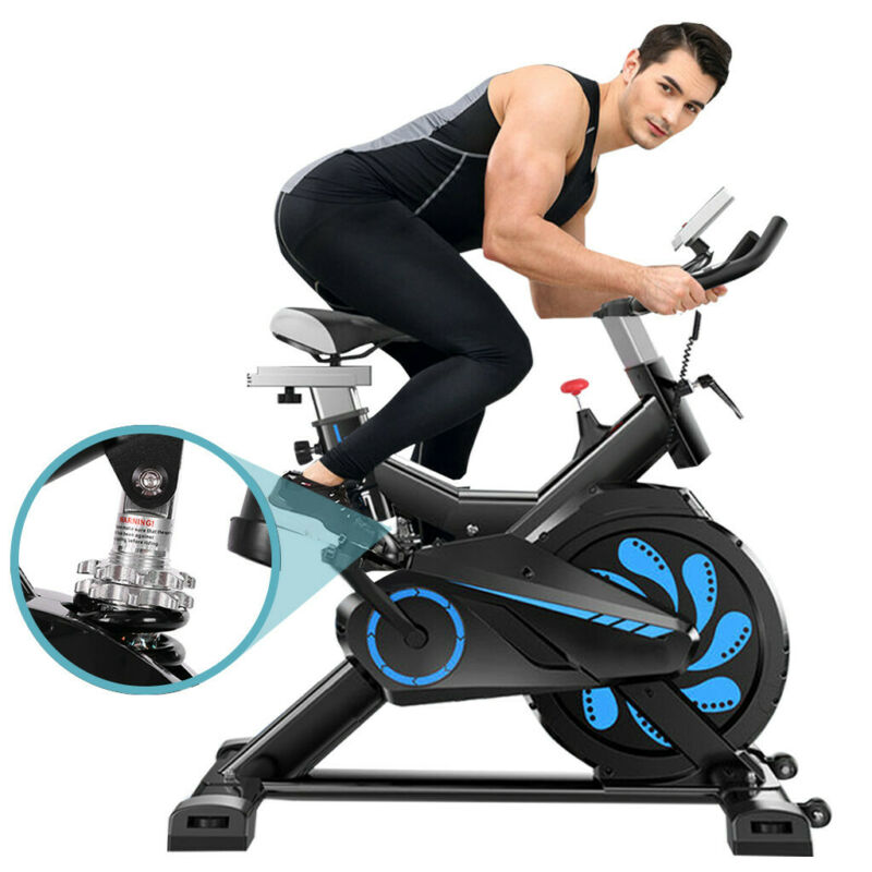 Indoor Cycling Bike Exercise Spin Bicycle Stationary Bikes w