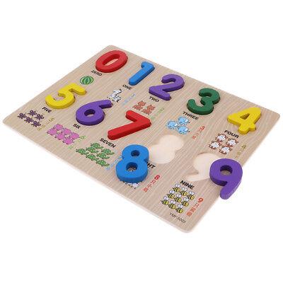 9 Zahlen Peg Puzzle für Kinder im Vorschulalter und (Spielzeug Für Kinder Im Vorschulalter)