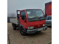 2005 Nissan Cabstar 34.10 3.0 diesel single wheel truck