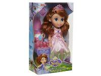 Tea time with princess Sofia Toddler doll