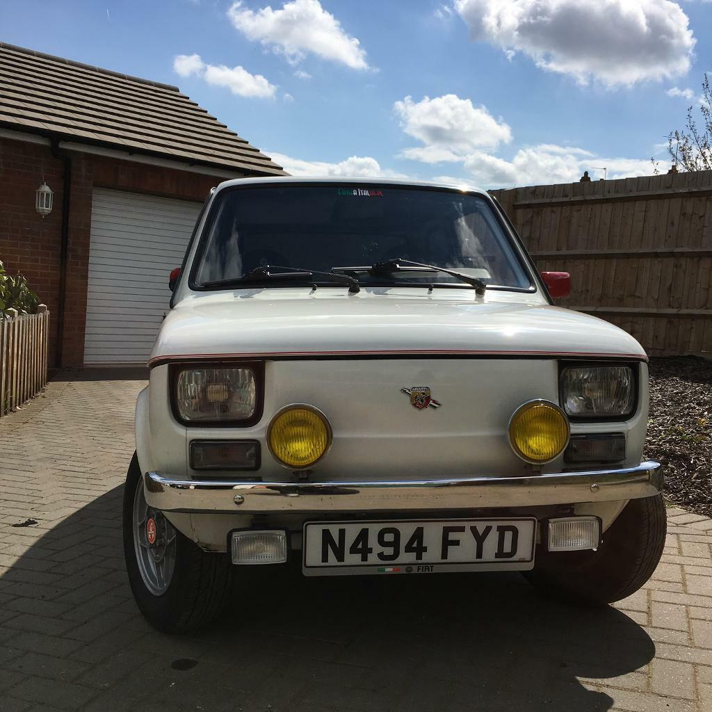 fiat 126 abarth in northampton northamptonshire gumtree. Black Bedroom Furniture Sets. Home Design Ideas
