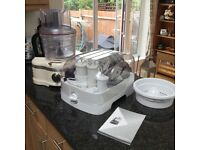 KitchenAid food processor (cream)