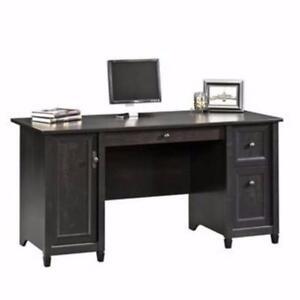 New, SAUDER 'Edge Water' Computer Desk (damaged box) *PickupOnly