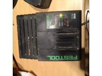 Festool lC 45 charger and battery