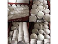 Catering Acropal France China dinner set for 200 and various kitchen equipment