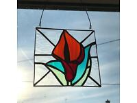 Stained glass suncatchers