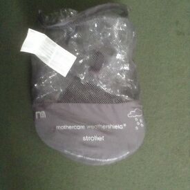 MOTHERCARE Weathershield Stroller Raincover . As new with tag.