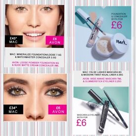 Excellent prices for high street makeup