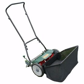 "Webb H18 Hand-Push 18"" Cylinder Lawn Mower Lawnmower w/ Rear Roller AS NEW + WARRANTY! RRP £100!"