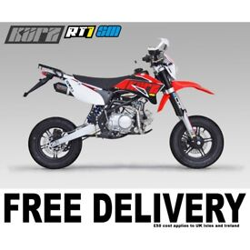 KURZ RT1 150 Supermoto - Pit Bike - Pitbike - 150cc - Road Legal