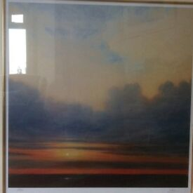 Close of Day Derek Hare Limited edition print