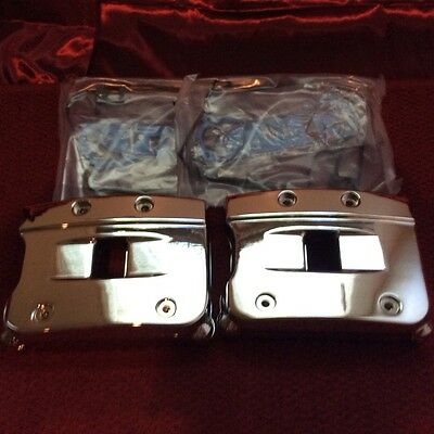 SALE! Harley Davidson chrome evo rocker boX set 84-99 big twin with gasket SALE!