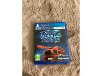 PS4 battle zone for VR