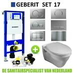 Geberit UP320 Toiletset set17 Gustavsberg Saval met Sigma...