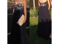 Prom Dress / Ball Gown - Navy size 6