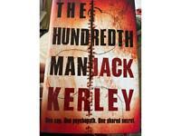 Jack Kerley the hundredth man harback book