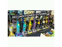 Dyson hoovers reconditioned
