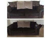 2 x 3 seater DFS sofas in excellent condition