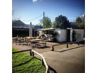 Cafe assistants and potential manager - Outdoor Cafe. Twickenham. Thames Riverside