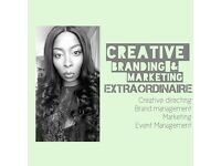 Creative Branding & Marketing Extraordinaire Available/ Creative Director / Brand Management/ Events