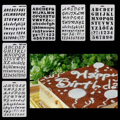 Alphabet Letter Number Fondant Cutter Mould Cake Cookie Decorating Baking Mold  - Alphabet Cookie Cutters